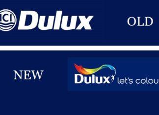 dulux paints rebranding