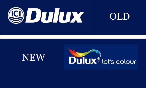 dulux paints rebranding