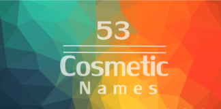 cosmetic brand names