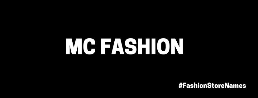 fashion store names