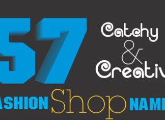 fashion shop names
