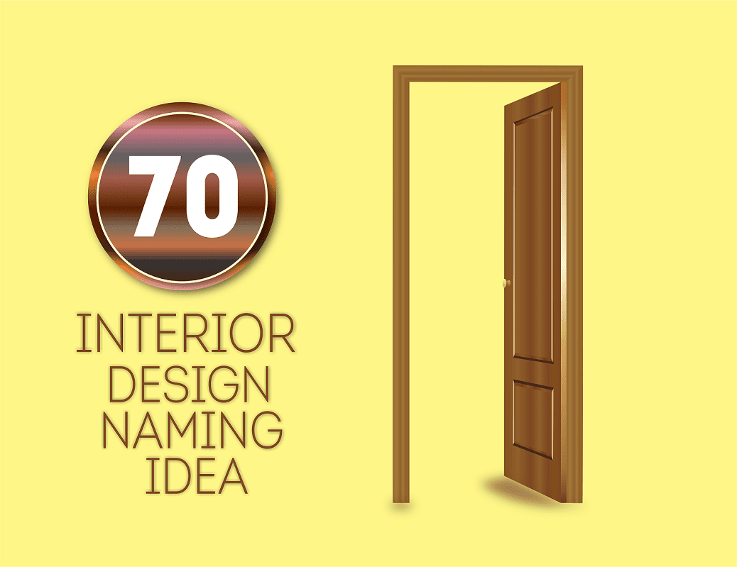 70 good interior design business names for Top product design firms
