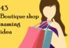 boutique shop names