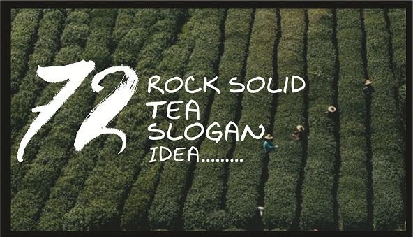 72 Catchy Creative Tea Slogan and Taglines | Brandyuva Slogans