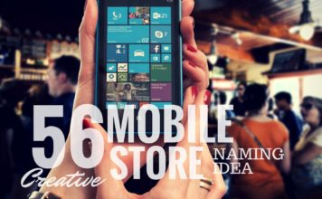 mobile store names idea
