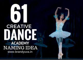 dance academy names