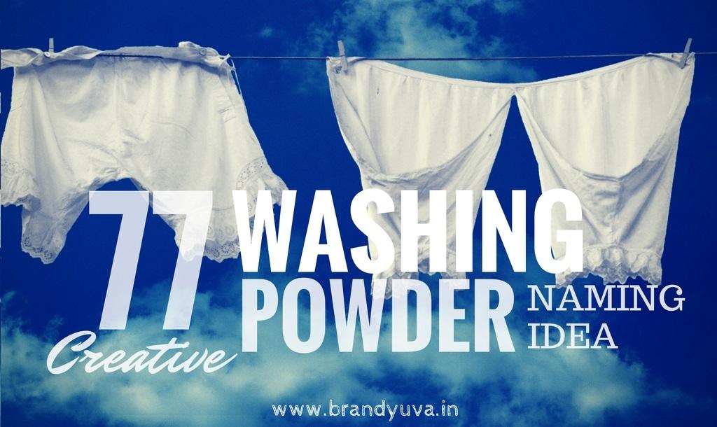 77 Unique Detergent Powder Brand Names Idea | Brandyuva in