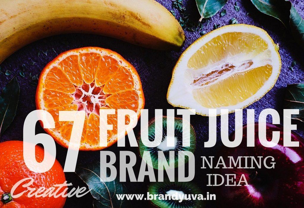 67 Creative Fruit Juice Brand Names Idea