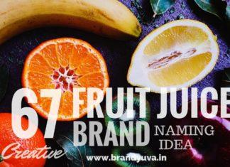fruit juice brand names