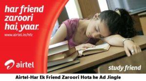 airtel-har-ek-friend-zaroori-ad-jingle