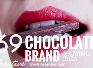 chocolate brand names idea