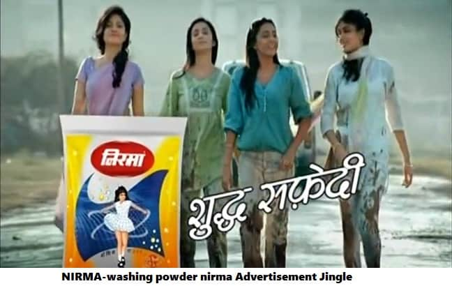 nirmawashing powder popular adv jingle
