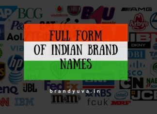 full forms of Indian brands names