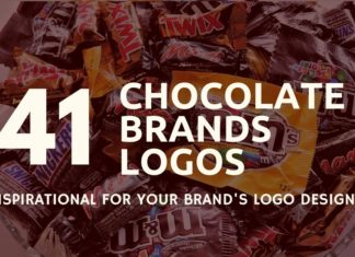 chocolate brands logos