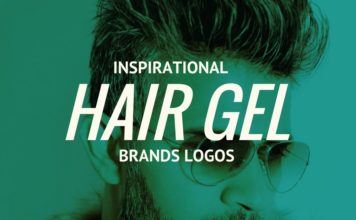 hair gel brands logos