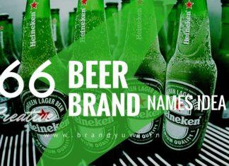 beer brand names