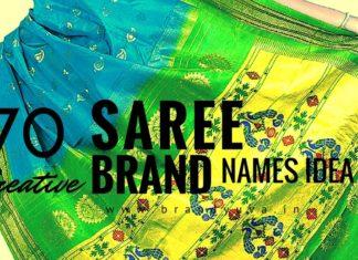 saree brand names