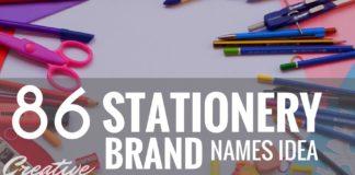 stationery brand names