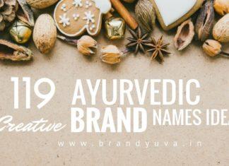 ayurvedic brand names