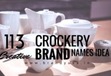 crockery brand names