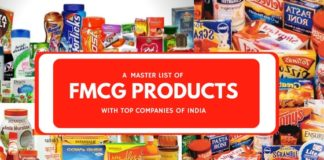 fmcg products companies list
