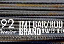 tmt bar brand names