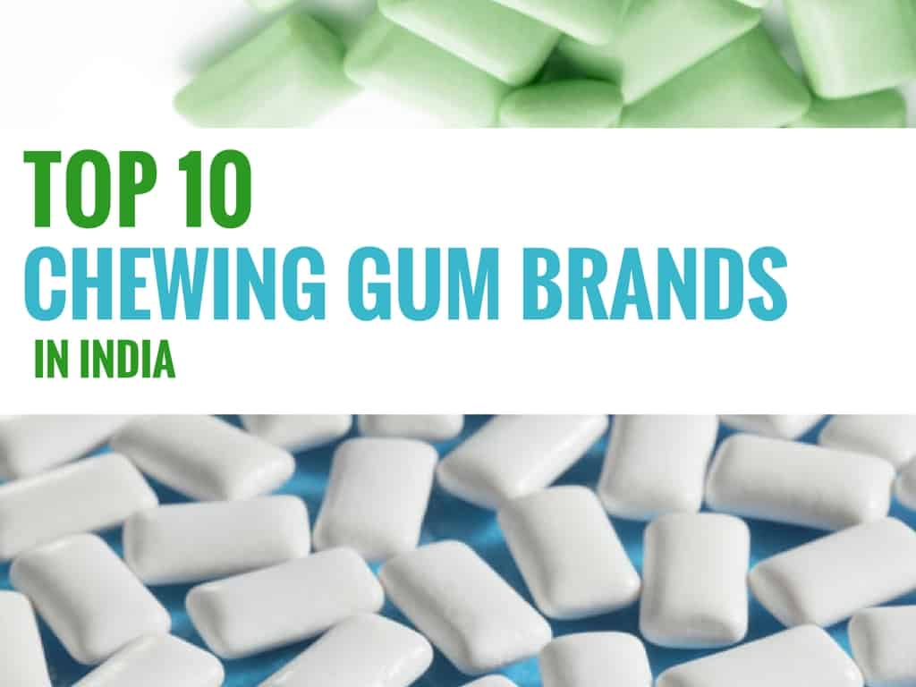 chewing gum market in india
