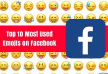 top emojis used in facebook