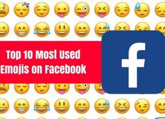 top emojis used in facebook