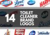 toilet cleaner brands logos
