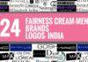 men fairness cream brands logos