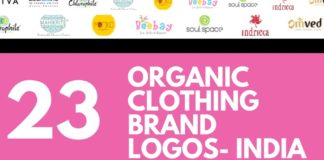 organic clothing brands logos