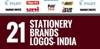 stationery brands logos