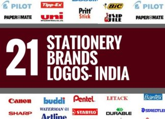 stationery brands logos