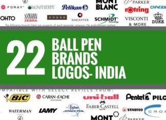 ballpen brands logos