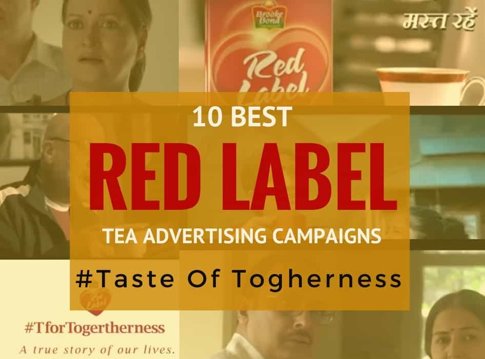 This is an image of Mesmerizing Red Label Tea Advertisement 2020