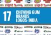 chewing gum brands logos