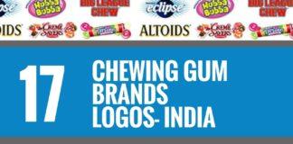 chewing gum brands logos