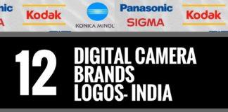 digital camera brands logos