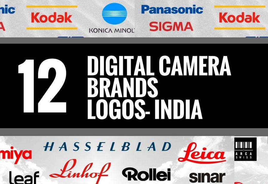 12 Best Digital Camera Brands and Logos India | Brandyuva.in