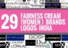 fainess cream women brands logos