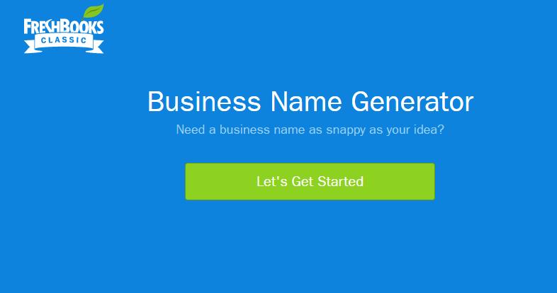 freshbooks brand names generator