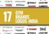 gym brands logos