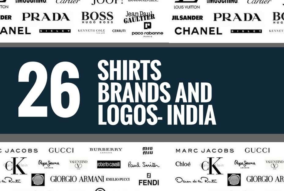 26 Best Shirts Brands And Logos In India Brandyuva Blog