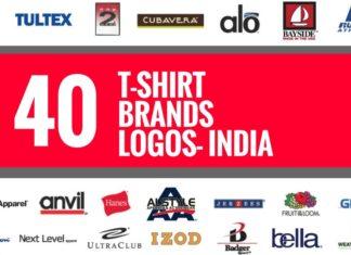 t shirt brands logos