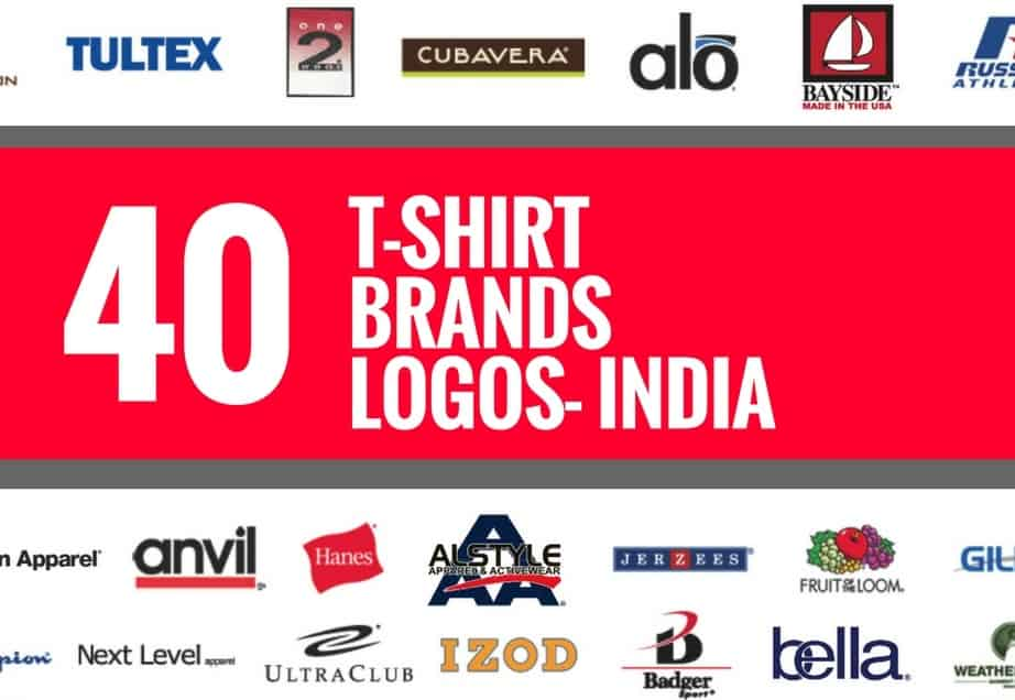 40 best t shirt brands and logos in india