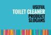toilet cleaner slogans