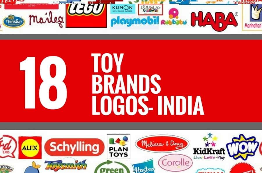 18 Best Toy brands and Logos in India | Brandyuva.in