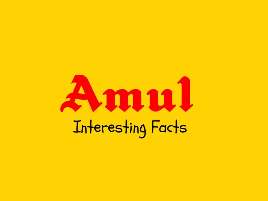 10 Interesting Facts Of Amul Brand Popular Brand S Facts