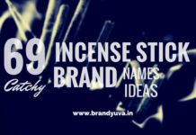 incense stick brand names